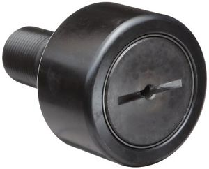 """McGill CF1 3/4S Cam Follower, Standard Stud, Sealed/Slotted, Inch, Steel, 1-3/4"""""""