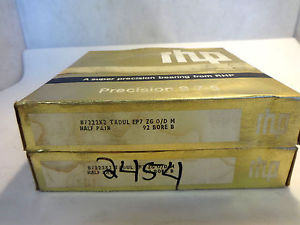 NEW IN BOX RHP 1 SET-2 BEARINGS B7222X2 TADUL EP7 SUPER PRECISION BEARING