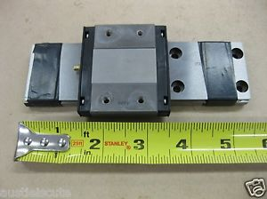 """THK Linear Guide LM Rail Carriage Bearing Block 5.5"""" 125mm Low Profile RSR15WVM"""
