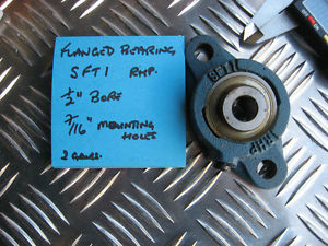 "RHP flanged bearing SFT1 , 1/2""bore."