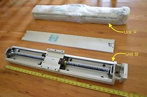 "NEW 29"" IAI ISP-MXM-N-30-500-AQ-G1-M1 Linear Ballscrew Actuator -THK CNC DIY Kit"