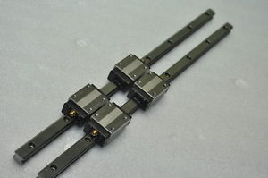 THK Linear Bearing LM GUIDE HSR15R 458mm 2Rails 4Blocks NSK IKO CNC Router