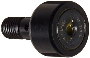 """McGill CF7/8S Cam Follower, Standard Stud, Sealed/Slotted, Inch, Steel, 7/8"""""""