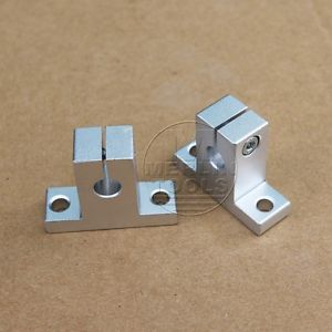 SK8 – SK50 Bearing CNC Aluminum Linear Rail Shaft Guide Support – Select size