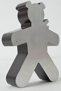 Aluminum die cut or c n c machine or laser or ???? Teddy Bear Grizzly figure