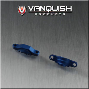 VPS04743 – Vanquish Axial OCP Axle CNC Machined Aluminum Bearing Caps – Blue