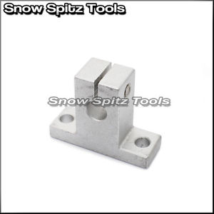 25mm SK25 CNC Alum. Linear Rail Shaft Guide Support Bearing [Choose Order Qty]