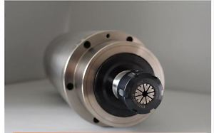 1piece 5.5kw 125Dx314mm 380v 4bearings water cooled CNC engraving spindle