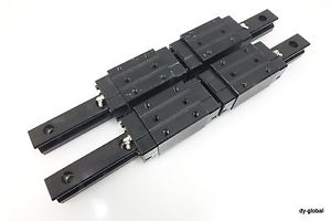 LRXD25+340mm IKO Roller LM Guide 2Rail 4Block Used THK SRG25R Linear Bearing CNC