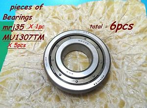 Cylindrical Roller Bearings 1pc of RHP, MRJ35 & 5 pieces of MU1307TM Federal M.