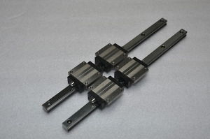 NB Linear Bearing LM GUIDE SGL15HTE 320mm 2Rails 4Blocks NSK THK CNC Router