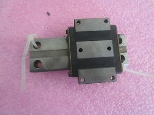THK Model: HRW17 Linear Bearing Block on Approximately 3.75 Rail