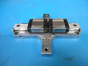 THK Dual Linear Block THK 5L14 RSR12V On Rail Mounted Cross