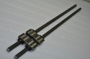 THK Linear Bearing LM GUIDE HSR15A 759mm 2Rails 4Blocks NSK IKO CNC Router