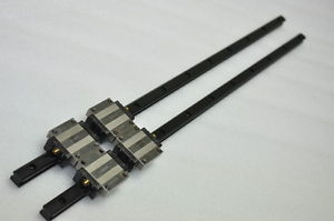 THK Linear Bearing LM GUIDE HSR15A 639mm 2Rails 4Blocks NSK IKO CNC Router