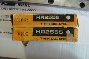 "THK LM guides HR2555 with 30"" Linear rails"