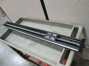 THK KR46 LM Ball Screw Actuator, 800mm Travel, 20mm Pitch, *No Motor Mount*