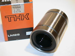 UP TO 6 NEW THK 25MM LINEAR BALL BEARINGS LM25