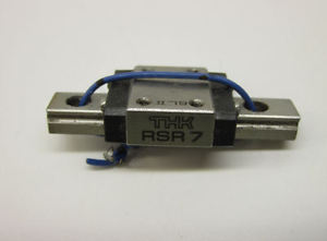 THK RSR7 MINIATURE SLIDE BLOCK AND 40mm RAIL