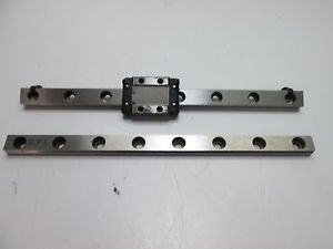 THK RSR 9KM Linear Bearing with Extra Rail, Rails: 155mm x 9mm x 6mm