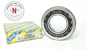 SNR 7208-BA ANGULAR CONTACT BALL BEARING, 40mm x 80mm x 18mm – GERMANY