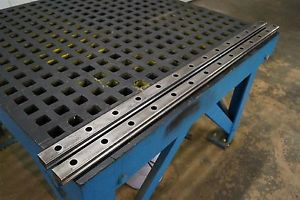 THK LM Linear Guide Slide Rail Kit SHS45 144cm Long 2 Rails