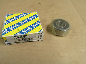 NIB SNR 2202 EE G15 BEARING RUBBER SEALED 2202EE 2202-2RS 15x45x13 mm