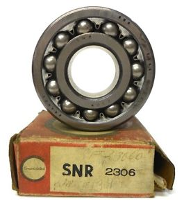 CONSOLIDATED SNR BEARING 2306, 30 X 72 X 27 MM