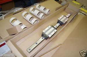 THK LINEAR RAIL AND BEARING SET # SH35LC2QZSS+840L 840mm LONG BLOCKS UN9D15