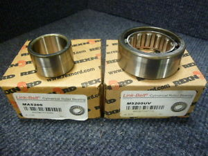 Link-Belt M5205UV Cylindrical Roller Bearing W/ Inner Cam Follower MA5205