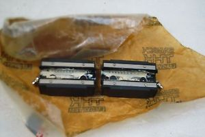 THK BEARING BLOCK HSR20 LOT OF 2 NNB FREE SHIP