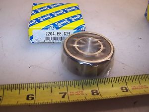 NEW NTN SNR 20mm X 47mM X 18mm SELF ALIGNING BALL BEARING 2204.EE.G15