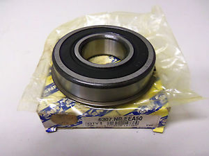 NEW SNR 6307.NR.EEA50 BEARING WITH SNAP RING 6307