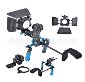 Digital Shoulder Rig Follow Focus Camcorder Steady DSLR Video Cam Camera