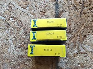 3-SNR Bearings, Cat# 16004 ,comes w/30day warranty, free shipping