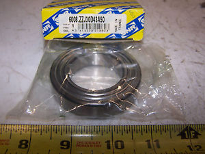 NEW SNR SINGLE ROW BALL BEARING 6008ZZJ30D43A50