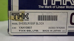 THK SHS30LR1SSF BLOCK *NEW IN BOX*