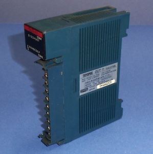 TOYODA TOYOPUC OUT-11 OUTPUT MODULE THK-2795 *MISSING DOOR*