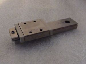 "THK RSR9WVM LINEAR BEARING BLOCK WITH 3.25"" LINEAR RAIL"