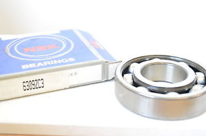 NSK 6309ZC3 Deep Groove Ball Bearing