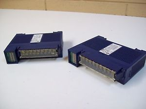 TOYOPUC IN-12 THK-2750 INPUT MODULE – USED MISSING COVER – 2PC – FREE SHIPPING