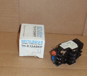 TH-K12ABKP-UL-0.24A Mitsubishi New In Box Heater Overload Relay Range 0.2A-0.32A