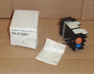 TH-K12KP-UL-0.24A Mitsubishi New In Box Heater Overload Relay Range 0.2A-0.28A