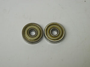 LOT OF 2 NSK 6300Z USED BALL BEARINGS 6300Z