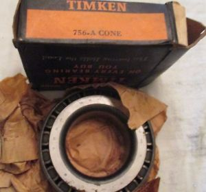 NOS Tapered Roller Bearing Set # 756-A Cone