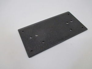 "TEMPLEX INC. 25373 MOUNTING PLATE 2"" THK X 4"" W X 7.5"" L *NEW OUT OF A BOX*"