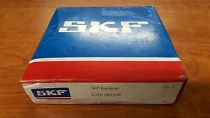 NEW SKF 6312 2RSJEM Single Row Ball Bearing