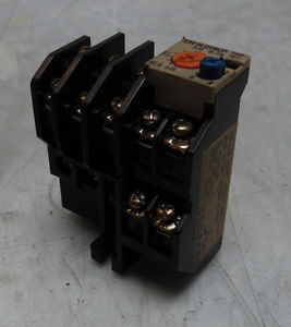 Mitsubishi Overload Relay, TH-K20KP, 0.7A, 0.55 – 0.85 A Range, Used, WARRANTY