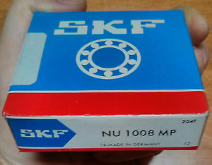 SKF NU1008MP Cylindrical Roller Bearing NU-1008-MP New