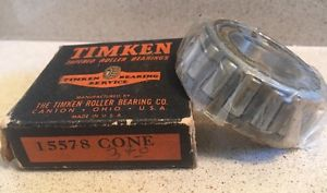 Timken Bearing Cone 15578 NOS New Old Stock